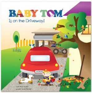 Baby Tom is on the Driveway